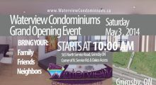 Waterview Condominiums Grand Opening Event - May 3rd